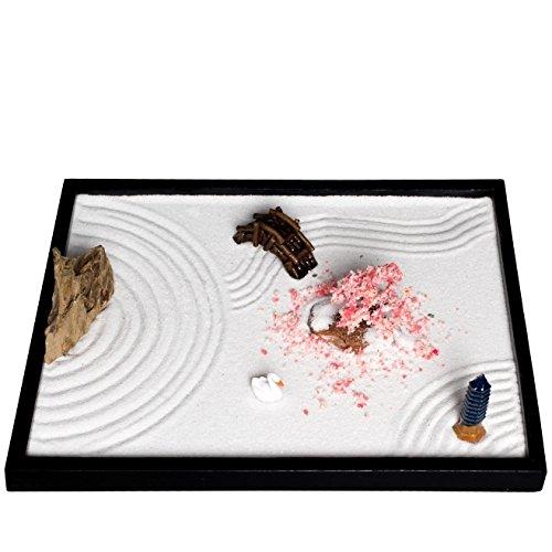 Juego de accesorios y herramientas para jardín Zen de ICNBUYS