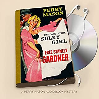 The Case of the Sulky Girl audiobook cover art