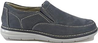 IMAC Zapatos de Hombre Nobuck Mortaja Primavera Verano Casual Azul 301900