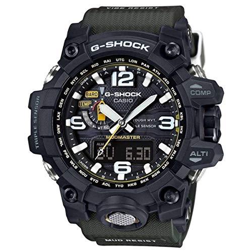 Casio G-Shock Mudmaster, colore: nero/tonalità di quarzo, quadrante in resina GwG 1000-1A3-Orologio da uomo