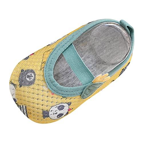 Gkojhj Zapatos de Agua Calzado de Piso para Infantes Niños y Niñas Sandalias Descalzas Barefoot Calcetines Respirable Secado Rápido Sandalias Nadar Agua Zapatos de Playa Antideslizantes Proteger Pies