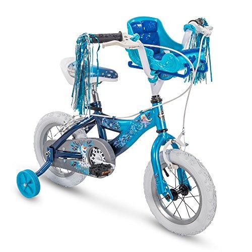 Huffy 12' Disney Frozen Elsa Girls Bike, Sky Blue