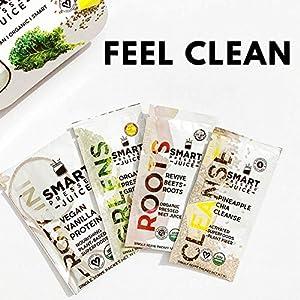 Smart Pressed Juice 3-Day Organic Juice Cleanse | Healthy Weight Loss & Detox Program | Vegan Vanilla Protein, Cold-Pressed Green Juice, Beets Juice & Pineapple Chia Cleanse | High Fiber & Vegan
