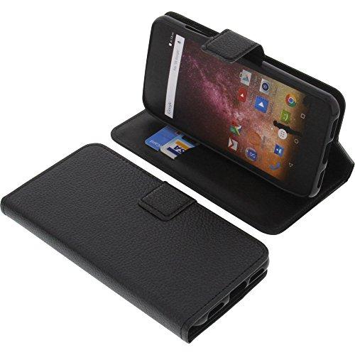 foto-kontor Tasche für Archos Core 50p Book Style schwarz Schutz Hülle Buch