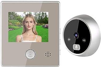 3X Digital Zoom Door Phone System, Low Power Consumption Night Vision Doorbeel, Durable Office for Home