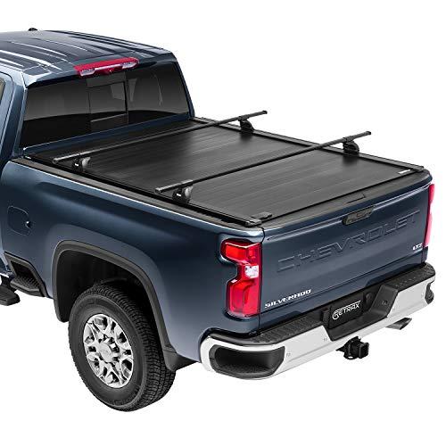 """RetraxPRO XR Retractable Truck Bed Tonneau Cover   T-80383   Fits 2017-2020 Super Duty F-250-350 6' 8"""" Bed"""