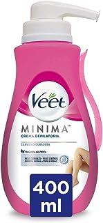 comprar comparacion Veet Crema Depilatoria Corporal para Mujer, Con Dosificador, Piel Sensible, 400 ml