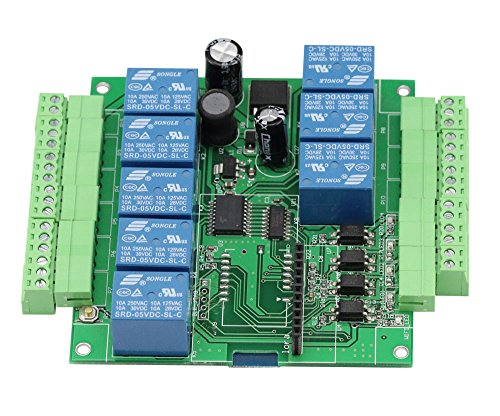 Preisvergleich Produktbild Aihasd 8 Channel Relay Module Bluetooth 4.1 BLE Switch for Apple Android Phone IOT