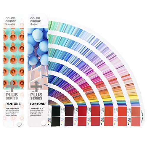 PANTONE PLUS GP6102N Color Bridge Set Coated & Uncoated [Set aus zwei Fächern]