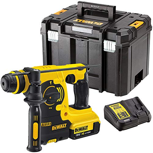 Dewalt DCH253N 18V SDS+ Rotary Hammer Drill with 1 x 5.0Ah Battery & Charger in Case