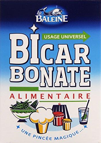 La Baleine Bicarbonate Alimentaire 800 g - Lot de 4