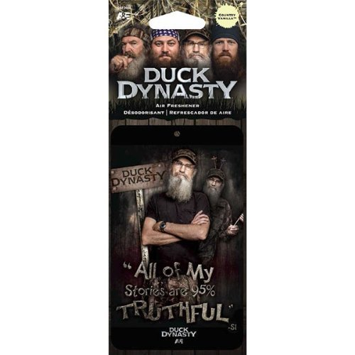 Price comparison product image LA Auto Gear Uncle Si All of My Stories are 95% Truthful Character TV Show Series A&E Duck Dynasty Max-4 Camo Car Truck SUV Boat Home Office Air Freshener - Country Vanilla Scent