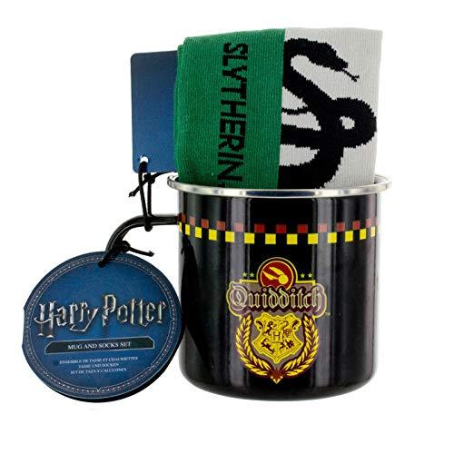 Harry Potter PP3899HP Coffret tasse et chaussettes en étain