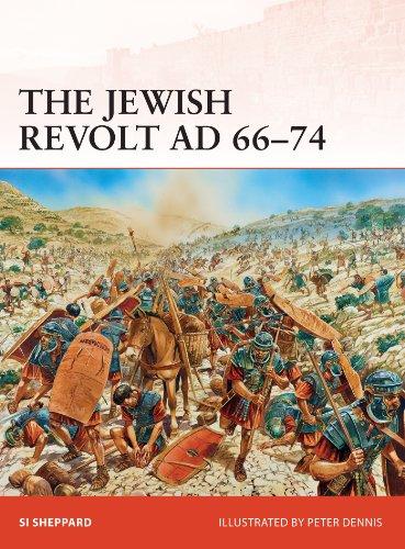 The Jewish Revolt AD 66–74 (Campaign Book 252) (English Edition)
