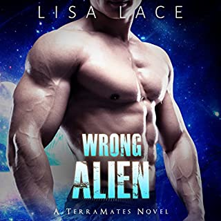Wrong Alien audiobook cover art