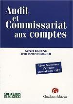 Audit et Commissariat aux comptes - A jour des normes d'exercice professionnel-NEP de Gérard Lejeune