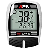DREAM SPORT Cycle Computer Wired Odometer, Accurate Speedometer for Bike with Trip Distance and Timer Durable Bicycle Computer