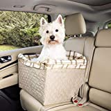 PetSafe Happy Ride Quilted Dog Safety Seat - Pet Booster Seat for Cars, Trucks and SUVs -...