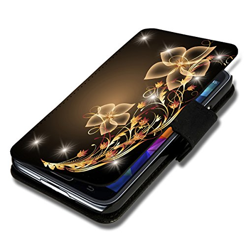 wicostar Book Style Flip Handy Tasche Hülle Schutz Hülle Schale Motiv Etui für Huawei Ascend Y330 - Flip X12 Design3