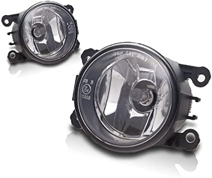 Amazon Com Fit 06 12 Mitsubishi Eclipse Fog Lights W Wiring Kit Clear Automotive