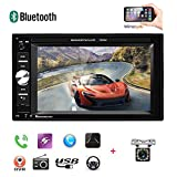 Double Din Car Stereo - Universal 6.2'' Touchscreen Car Multimedia Player Car Radio