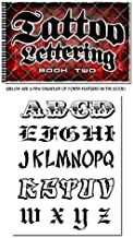 Tattoo Lettering Book Reference Flash Book (Volume 2)