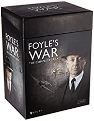 FOYLE'S WAR - As WW2 rages around the world, DCS Foyle fights his own war on the home-front as he investigates crimes on the south coast of England. Later series sees the retired detective working as an MI5 agent operating in the aftermath of the war...