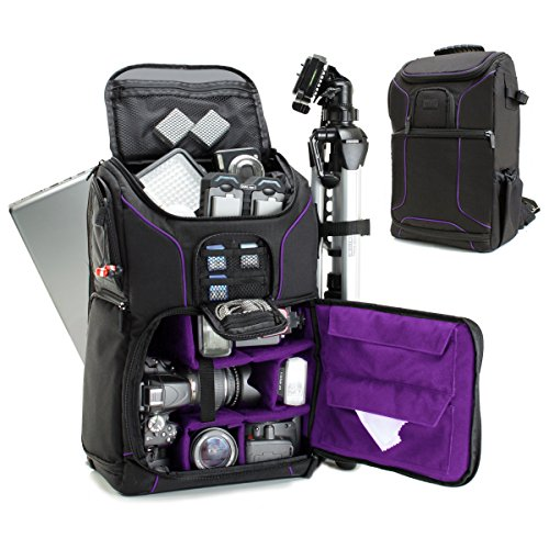 USA GEAR DSLR Camera Backpack Case
