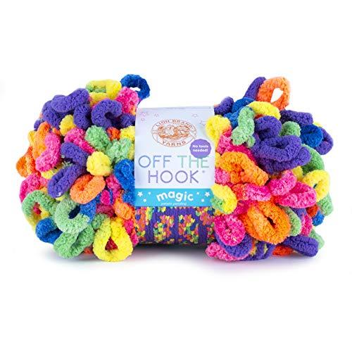 Lion Brand Yarn Off the Hook Magic yarn, Peace Sign