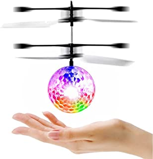 LESHP RC Toy, RC Flying Ball, RC infrared Induction Helicopter Ball Built-in Shinning LED..