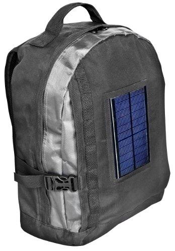 Bresser - Mochila con panel solar y batería con adaptadores