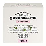 goodness.me Certified Organic Baby Soap | Paediatrician Certified | for Infants and Newborns