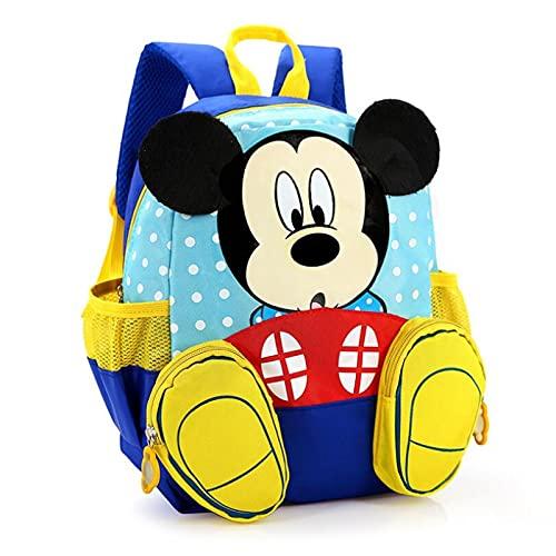 Tylyund Mochilas Mochilas Impermeables De Mickey De Dibujos Animados / Mochilas Para Bebés Y Niños Mochilas Para Niños / Mochilas Escolares Para Niños / Cartera Para Niños Y Niñas
