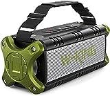 Best Waterproof Bluetooth Speakers - Bluetooth Speaker, W-KING 50W Super Loud Portable Bluetooth Review