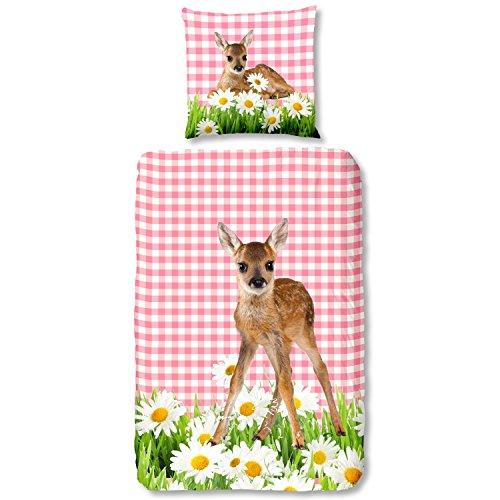 good morning Kids, Bambi parure de lit, Parure de lit enfant Bambi, 135 x 200 cm