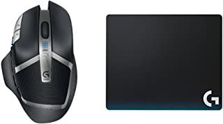 G602 Lag-Free Wireless Gaming Mouse & Logitech G440 Hard Gaming Mouse Pad for High DPI Gaming bundle