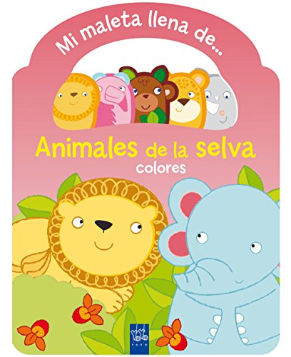 Animales de la selva. Maleta: Colores (Mi maleta llena de...)