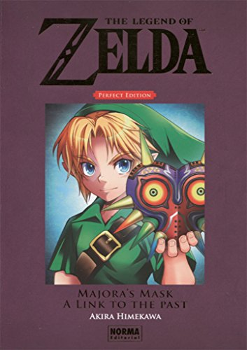The Legend of Zelda kanzenban 2, Majora's mask ; A link to the past