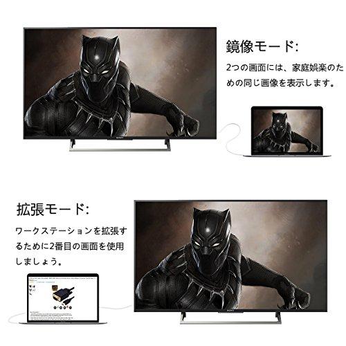 『HDMI to VGA変換ケーブル金メッキ1080P HDMIオスto VGAオスアクティブなビデオ変換コード( 6フィート/ 1.8メートル)』の5枚目の画像