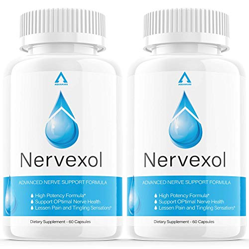 (2 Pack) Nervexol for Neuropathy Capsules Pain Relief Nerve Support Formula Supplement Pills Tablets Reviews (120 Capsules)