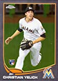 2013 Topps Chrome Update Baseball #MB-47 Christian Yelich Rookie Card. rookie card picture