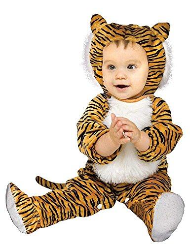 Knuffel Tijger Babykostuum - Baby (12-24 maanden)