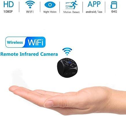 XHZNDZ Mini Spy Camera 1080P HD IR Telecamera per Visione Notturna Wireless WiFi Telecamera Nascosta Videoregistratore grandangolare Telecamera di sorveglianza remota minuscola Rilevazione Movimento - Trova i prezzi più bassi