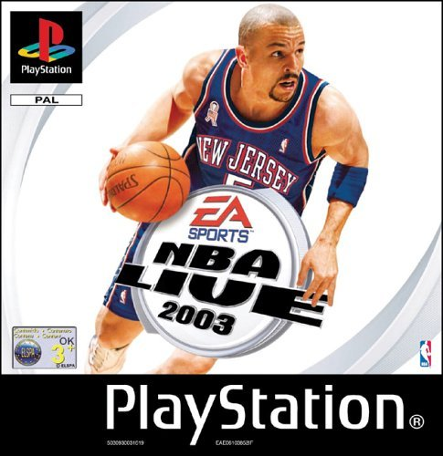 NBA Live 2003 (PSone) by Electronic Arts