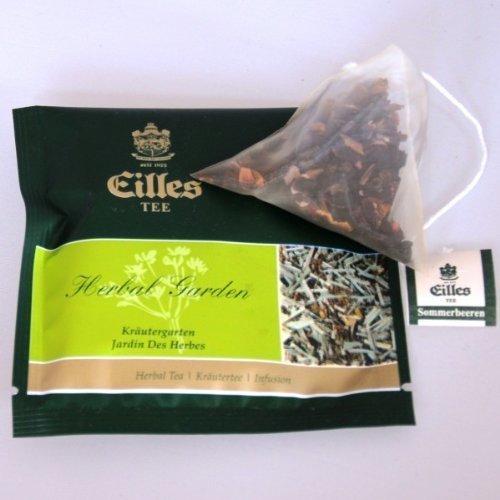 Eilles Tee Kräutergarten, 10 x 2,5g, Tea-Diamonds, einzeln kuvertiert