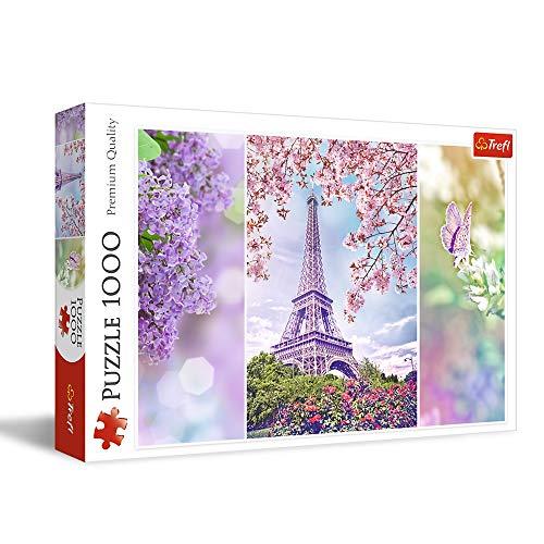Puzzle Romantic 1000 Wiosna w Paryzu
