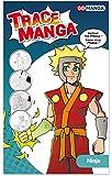 GO MANGA Ninja Trace Manga, A4
