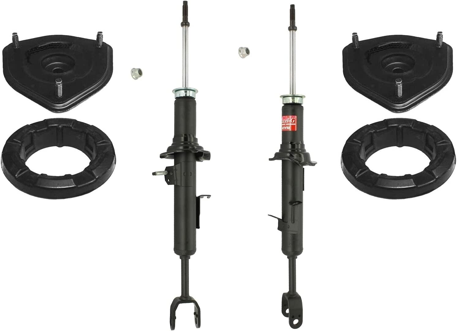 Directly managed store Front Max 56% OFF Suspension Struts Mounts kit Compatible with Infiniti G35