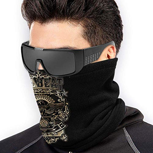ngxiandaz Volbeat Poster Soft Fleece Neck Warmer Gamasche Gesichtsmaske Abdeckung für kaltes Wetter