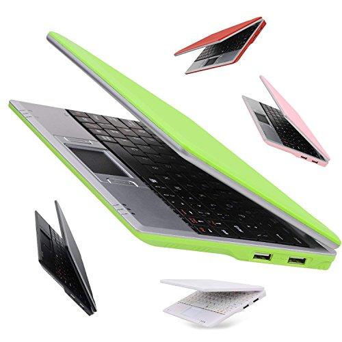 """EPC 701 - Netbook de 7"""" (512 MB RAM, 4 GB, WiFi, Android), Verde"""